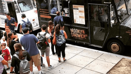 brooklyn sandwich co kosher food truck at george washington university
