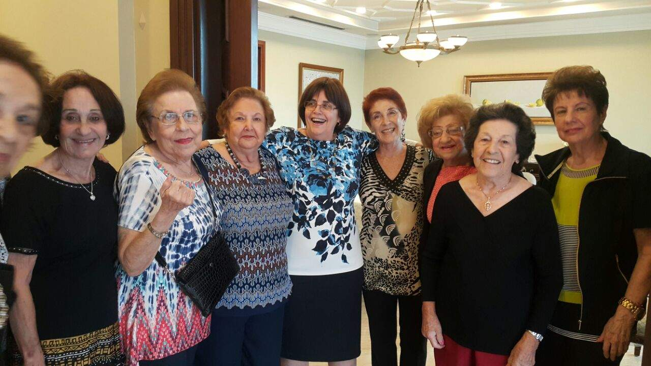 Daniella (center) and the Grandmothers